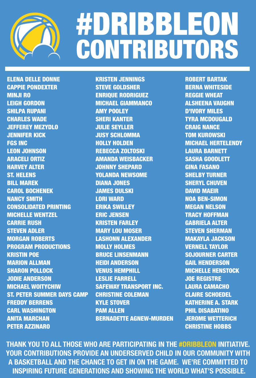 DribbleOn-contributors